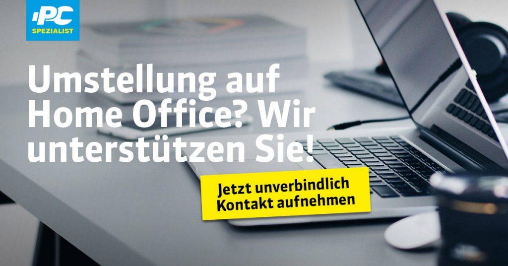 Einrichtung vom Home Office